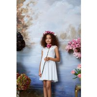 Coast Girls Embroidered Bridesmaids Dress -, Ivory