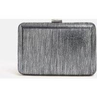 Shimmer Box Bag Gun Metal, Grey
