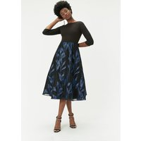 Coast Bridesmaids Jacquard Midi Bridesmaid Dress, Black
