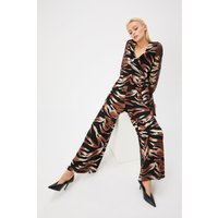 Curve Burnout Animal Jumpsuit Multi, Multi
