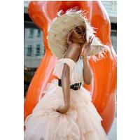 Coast Tulle Maxi Bridesmaid Dress, Pink