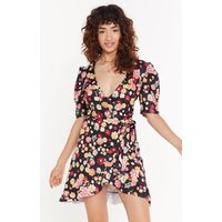 Anyone Bud You Floral Mini Dress