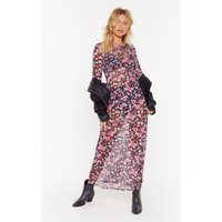 Best Days Of Flowers Lives Floral Maxi Dress