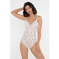 Best Of My Love Lace Tie Bodysuit