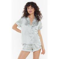 Beauty Sleep Satin Short Pyjama Set