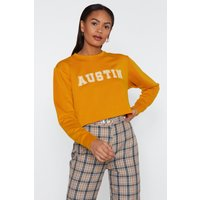 Austin Cropped Sweatshirt
