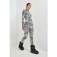 Karen Millen Ski Legging -, Zebra