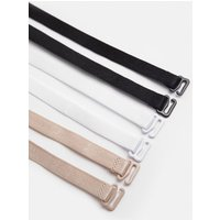 Karen Millen 3 Pack Bra Strap, Multi
