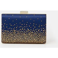 Embellished Detail Clutch Dark Blue, Dark Blue