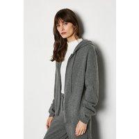 Cashmere Hoody Grey, Grey