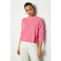 Recycled Cashmere Essential Jumper Navy, Navy