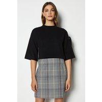 Karen Millen Check Skirt, Multi