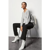 Karen Millen Utility Trousers, Black