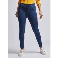 Women's Petites Indigo Eden Jeans - 6