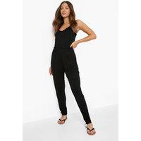 Womens Basic Cami Jumpsuit - black - 18, Black