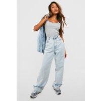 Womens Basic Wide Strap Vest - grey - 16, Grey