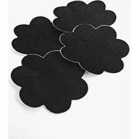 Detail Nipple Covers 2 Pair Pack - black
