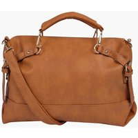 Oversized Day Bag - tan