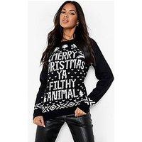 "Jersey ""merry christmas ya filthy animal"""