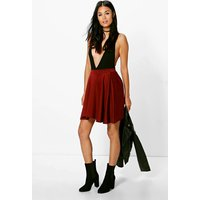 Skater Skirt - berry