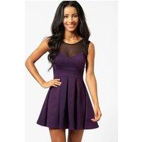 Skater Dress - grape