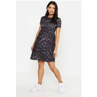 Maternity Scribble Print Smock Dress