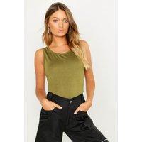 Womens Basic Vest - green - 6, Green