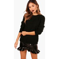 Soft Knit Jumper - black