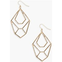 Geometric Earrings - gold