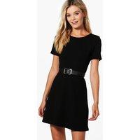 Skater Dress - black