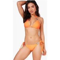 Boutique Triangle Bikini - orange