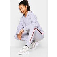 Womens Basic Solid Oversized Hoody - grey - M/L, Grey