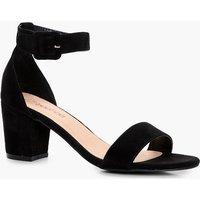 Low Block Heel Sandal - black
