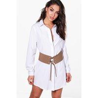 Corset Belt 2 In 1 Dress - khaki