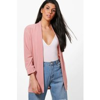 Fine Knit Cardigan - blush