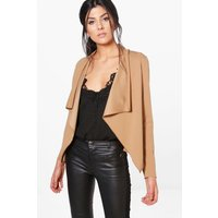 Waterfall Blazer - camel