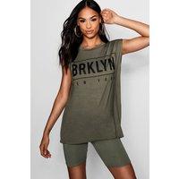 Brooklyn Sleeveless Top - khaki