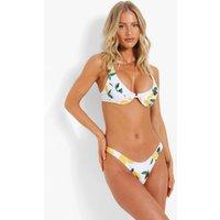 Womens Fuller Bust Underwire Bikini Top - White - 6S, White