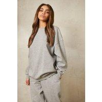 Womens Oversized Sweatshirt - Grey - S, Grey