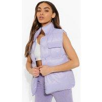 Womens Synch Waist Gilet - Purple - S, Purple