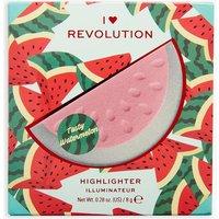 Womens I Heart Revolution 3D Watermelon Highlighter - Metallics - One Size, Metallics