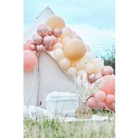 Womens Ginger Ray Rose Gold And Nude Balloon Arch - Pink - One Size, Pink