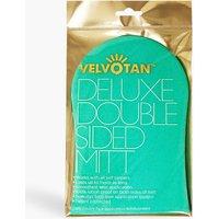 Womens Velvotan Deluxe Double Sided Mitt - Blue - One Size, Blue