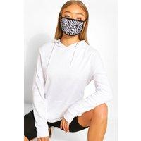 Womens Animal Fashion Face Mask - Black - One Size, Black