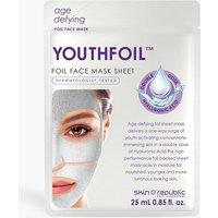 Womens Skin Republic Youthfoil Mask - White - One Size, White