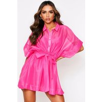 Womens 'Neave' Mesh Dress - Pink - 8, Pink