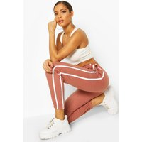 Womens Oversized Stripe Detail Jogger - purple - 14, Purple