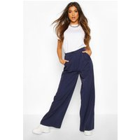 Womens Relaxed Masculine Fit Trouser - navy - 10, Navy