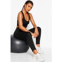 Womens Fit High Waist Pocket Detail Gym Leggings - black - 12, Black