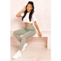 Womens The Ankle Grazer Loopback Jogger - green - 8, Green